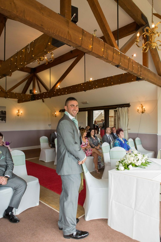 The wedding of Ben and Kerry at shropshire golf centre
